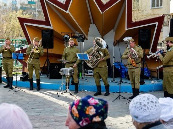 Концерт в честь 9 мая прошел в Горском микрорайоне Новосибирска