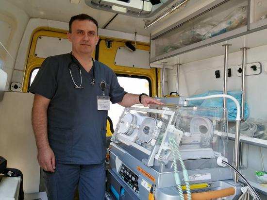 В реанимобиле югорской больницы появилось новое оборудование