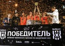 Андрей Кириленко вручил награды победителям чемпионата России по баскетболу 3х3 в Хабаровске