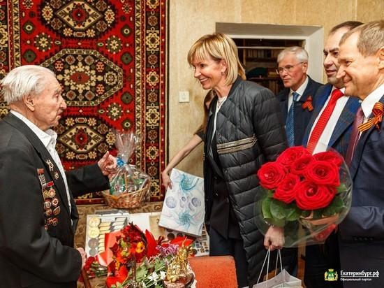Владимир Путин поздравил екатеринбургского ветерана со 100-летием
