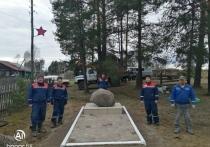 В канун праздника филиал Костромаэнерго подсветил воинские мемориалы