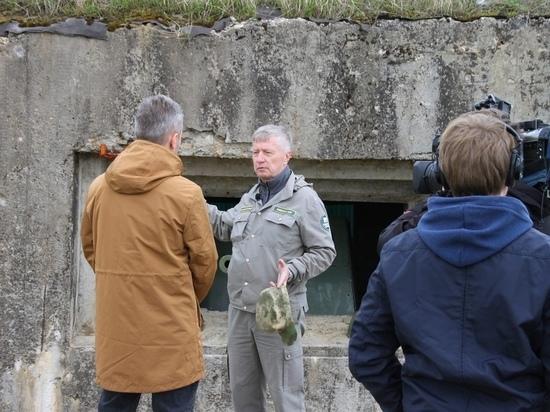 Журналисты Первого канала побывали на местах боев в Калужской области