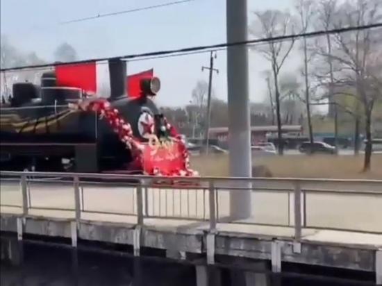 В Хабаровске встретили «Поезд Победы»