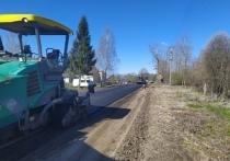 Ремонт дорог возобновили в Стругокрасненском и Новоржевском районе