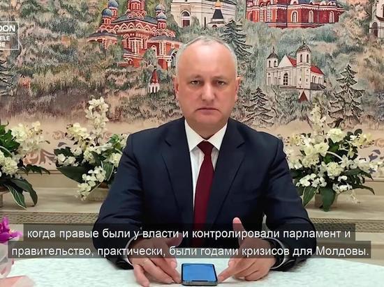 Игорь Додон: На следующей неделе ПСРМ отправит документы в ЦИК