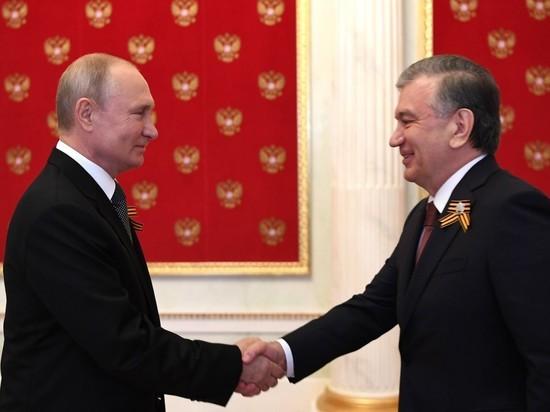 Путин созвонился с президентом Узбекистана