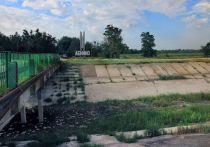 Начальник отдела водопользования Северо-Крымского канала Наталия Тарапун рассказала о плачевном состоянии дамбы, перекрывающей поступление воды с Украины в Крым