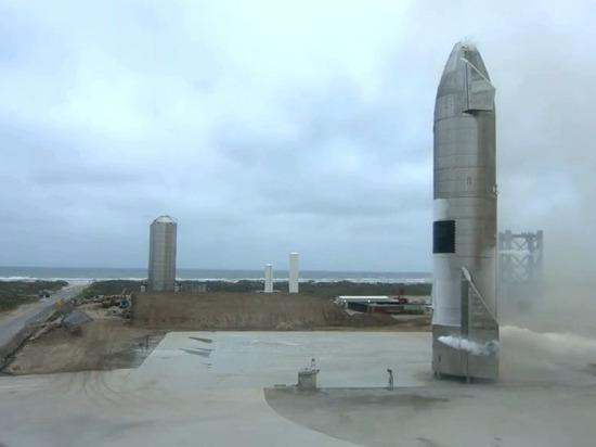 SpaceX планирует в скором времени повторно запустить ракету Starship