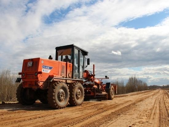 Ремонт дороги стоимостью 220 млн рублей проходит в Печорском районе