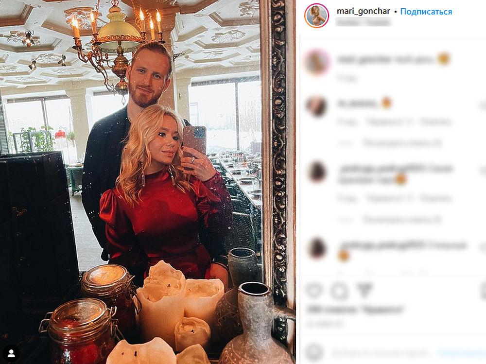 Бывший муж Пелагеи, хоккеист Телегин обручился с новой возлюбленной