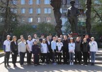 В рамках акции «Сад памяти» в Рязани посадили 20 краснолистных кленов