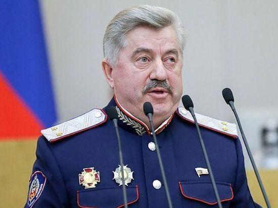 Казачий генерал примет участие в праймериз