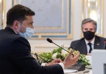 Официальный визит американской делегации во главе с госсекретарем США Блинкеном в Киев живо обсуждаются в украинских СМИ Украины