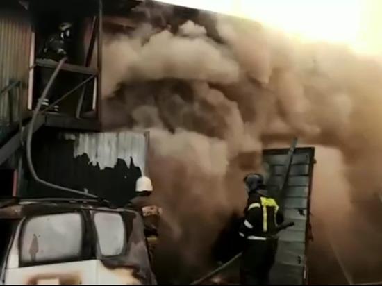 Три человека погибли в результате взрыва в автосервисе в Мытищах