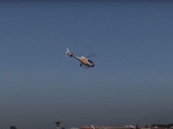 Вертолет упал в море на юге Испании