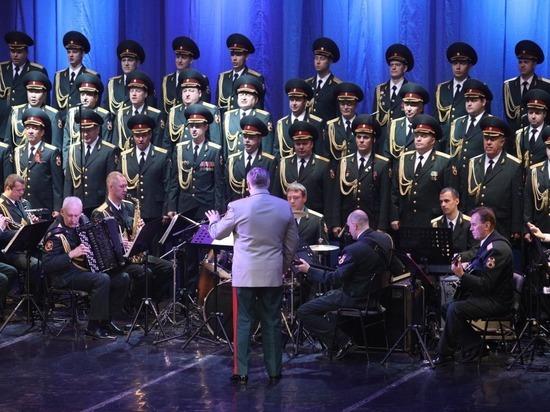 На Вологодчине стартовали гастроли крупнейшего армейского художественного коллектива России