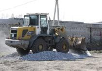 Илья Середюк проверил ход работ по благоустройству северного въезда в Кемерово