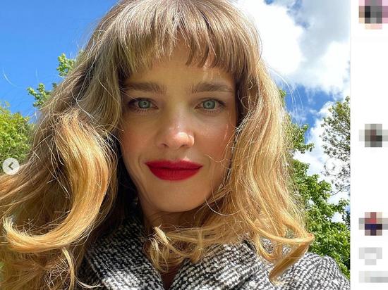 Топ-модель Наталья Водянова сменила имидж