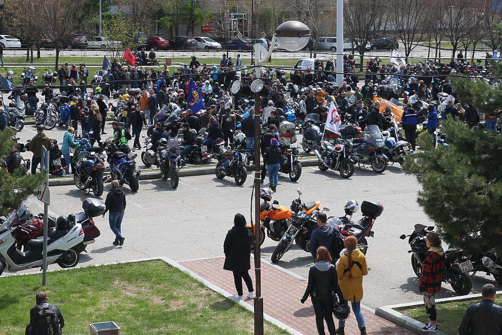 Хабаровские байкеры открыли мотосезон 2021