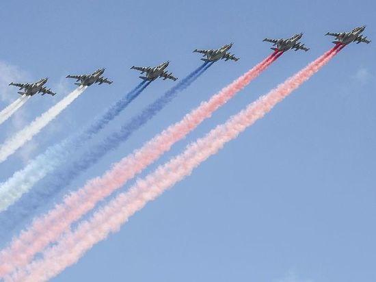Песков: погода может повлиять на воздушную часть парада Победы