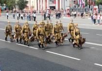 В кузбасском Победном параде примут участие четвероногие бойцы