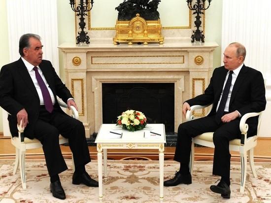 Путин заявил об укреплении 201-й военной базы в Таджикистане