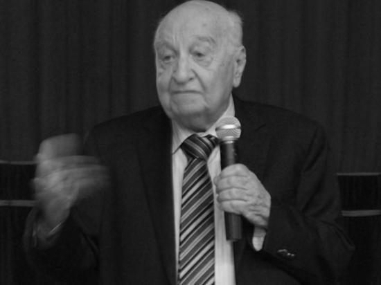 Столичный департамент образования и науки сообщил о смерти народного учителя России Юрия Завельского