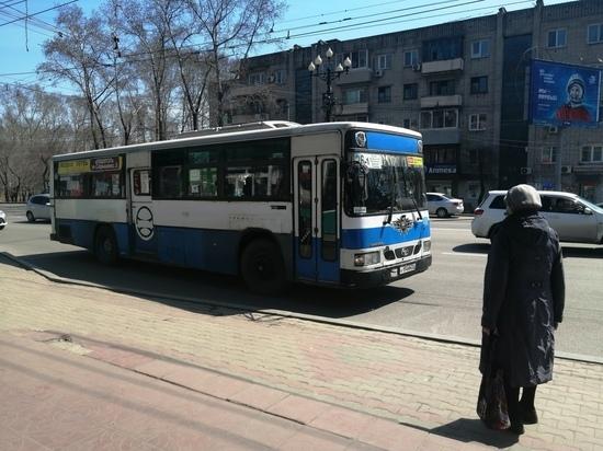 Работу общественного транспорта в краевом центре продлили в День Победы