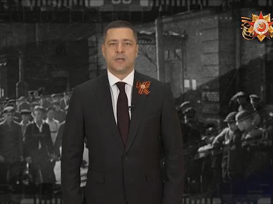 Михаил Ведерников поздравил псковичей и ветеранов с праздником Победы