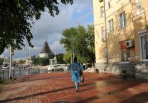 Сегодня, в День Победы, погода решила не радовать городских жителей Калмыкии своей улыбкой