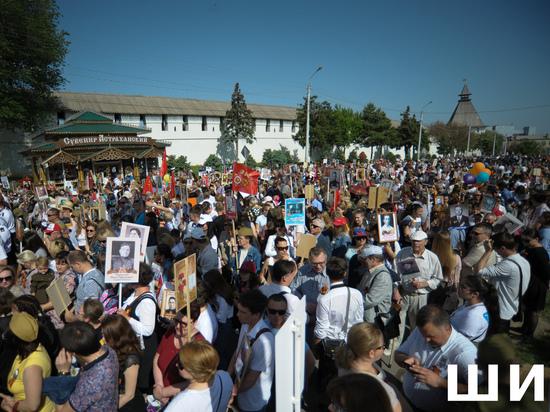 День Победы празднуют жители Астраханской области
