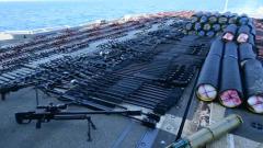 Американцы задержали в Аравийском море судно с грузом оружия