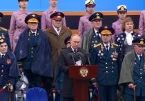 Парад Победы в Москве посетил ветеран из Твери