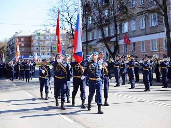 Росгвардейцы обеспечили общественный порядок в День Победы в Пскове