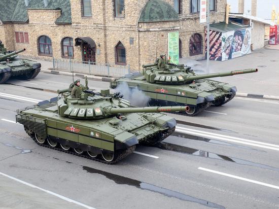 В Нижегородском параде Победы участвовало около 1300 человек