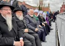 Лидеры еврейской общины приняли участие в Параде Победы