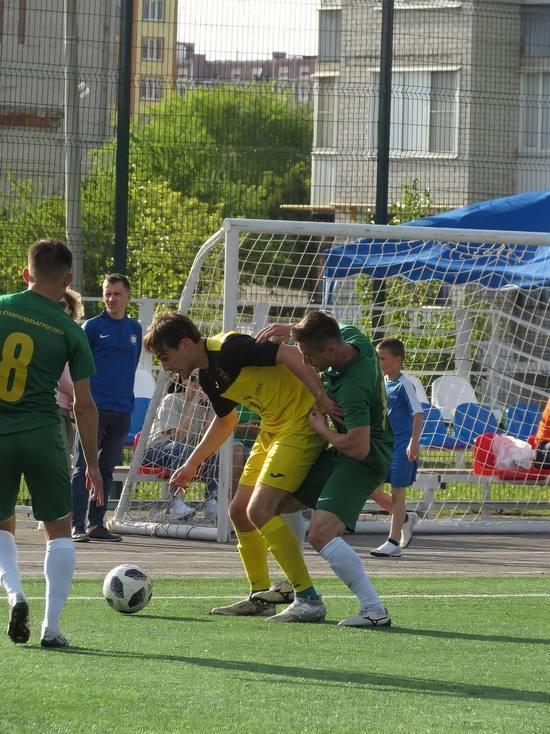 Футболисты из Невинномысска обыграли соперников из Михайловска