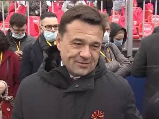 Губернатор Андрей Воробьёв поделился впечатлениями о Параде