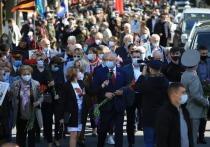 Десять тысяч человек приняли участие 9 мая в Марше Победы в Кишиневе