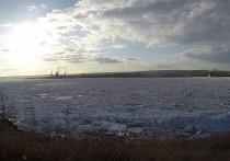 Кромка ледохода на Лене находится в 407 км от границ Якутии