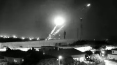 Территорию Израиля обстреляли ракетами из сектора Газа: видео