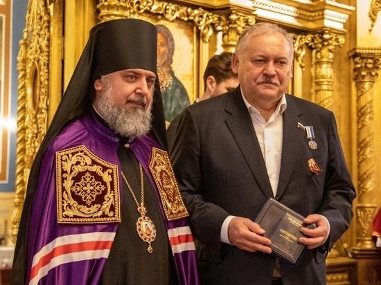 Депутата Госдумы Константина Затулина наградили медалью Сочинской епархии