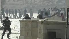 Беспорядки в Восточном Иерусалиме попали на видео