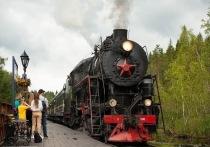 В парк «Рускеала»в мае отправятся 20 дополнительных рейсов ретропоезда