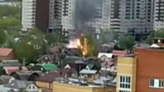 Мать и дочь спалили дом во время жарки шашлыков: видео