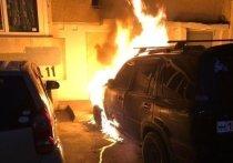 В Иркутске из-за поджога сгорели две машины
