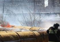 В Тейковском районе случился пожар на теплотрассе
