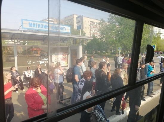 Жители Оренбурга не могут уехать на работу
