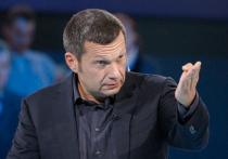 Телеведущий Владимир Соловьев крайне резко выразился о писателе и журналисте Викторе Шендеровиче за его высказывания о роли Советского Союза во Второй мировой войне