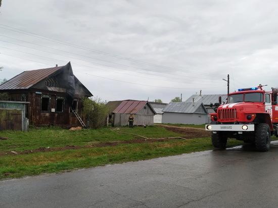 58-летний мужчина погиб при пожаре в Чувашии